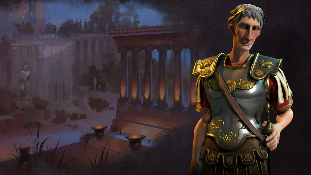 The leaders in Civ VI have more personality than ever thanks to wonderful animations and delightful art design
