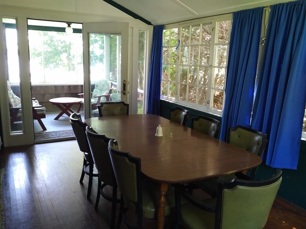 Lakeside Camp Dining Room