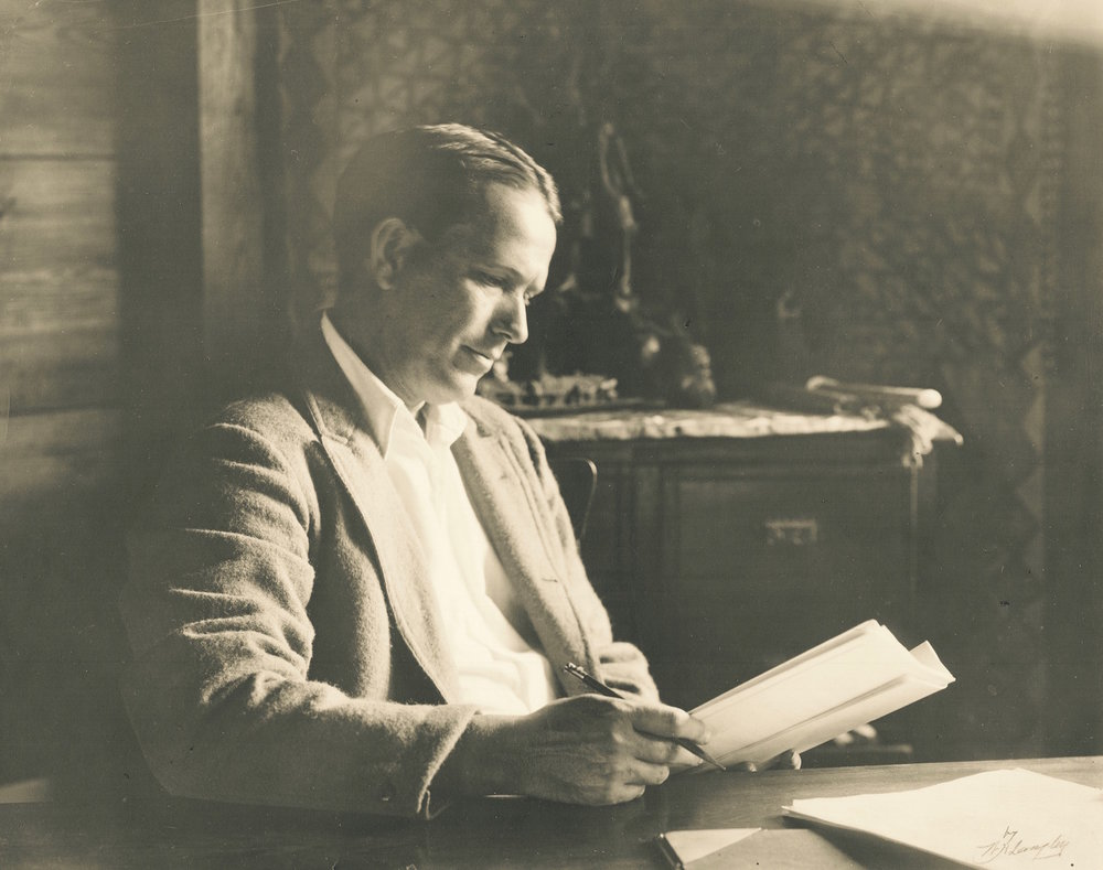 John B. Hymer, playwright and original colony house proprietor (Image courtesy of Jenny Oby)