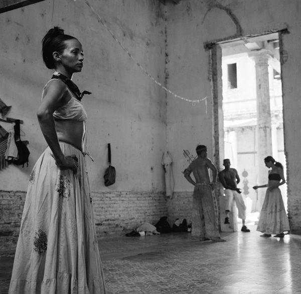 Folkloric Dancers in Rehersal, Las Romarias de Mayo, Holguin 2003
