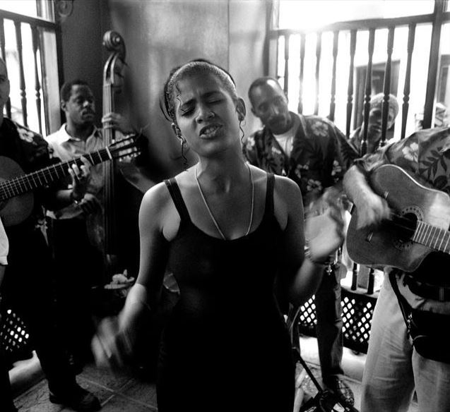 Havana Cafe, Marika Singing in el Escabeche, Havana 2002