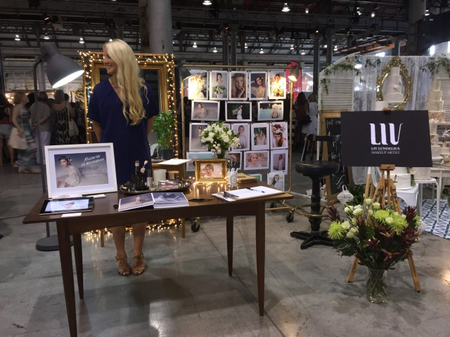 one fine day wedding fair makeup artist Liv Lundelius Sydney 02