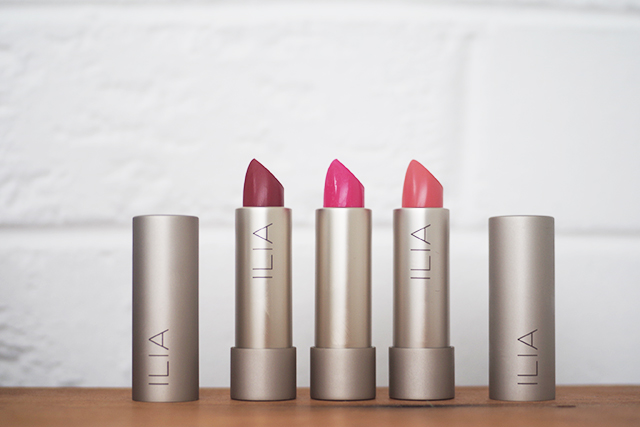 ILIA Lipsticks review Liv Lundelius Makeup Artist Green Beauty Editor