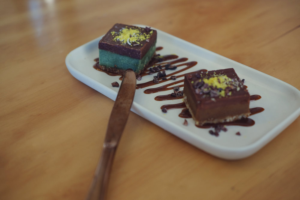 Raw Dessert Caramel Slice Mint Slice Sadhana Kitchen Bondi Beach Vegan plant-based.jpg