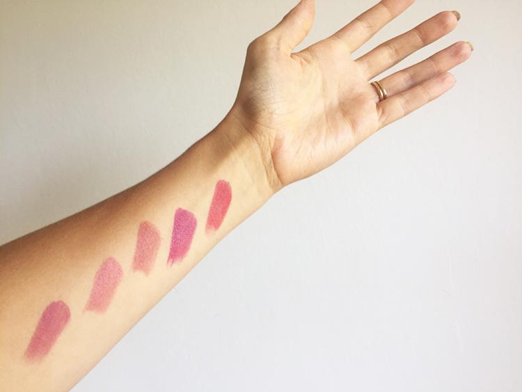 Nudus lipstick swatches.JPG