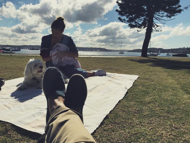 Liv Dave family picnic in sydney02.jpg
