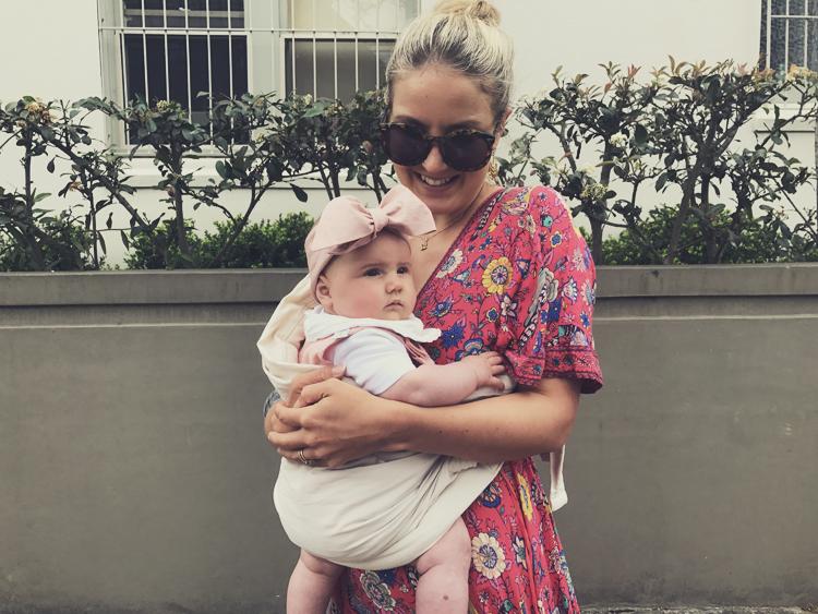 Vegan Mum Vegan Baby Sydney Bow Baby Organic Clothing.jpg