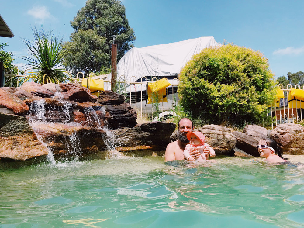 daddy daughter vegan sydney summer swimmingpool.jpg