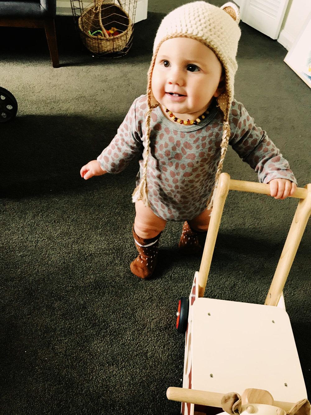 Faye 10months old vegan baby