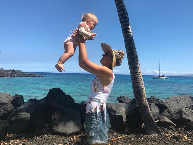 Soooooo Big!  On the Big Island.  Take us back 🙋🏼‍♀️✈️ #travelfever #plantbasedfamily #veganbaby #veganmum #paradisefound #heavenonearth