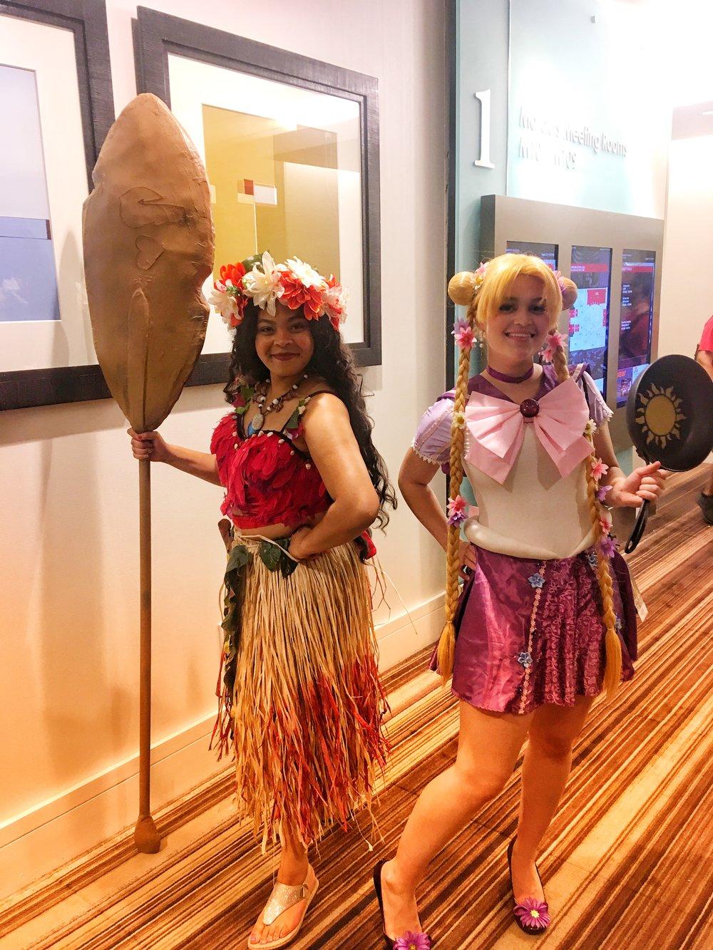 I am Moanaaaaaa! And Sailor Rapunzel!