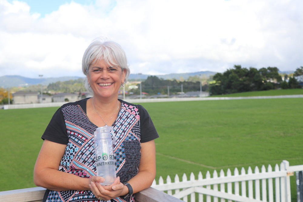 Lynette Adams CEO Sport Waitakere   - the organisation have taken a firm stance that all events involving young people are pro water - in 6 months, 11 events attracting 2300 young people have had water as the only drink   Sport Waitakere pledge to promote water at events and to the wider community