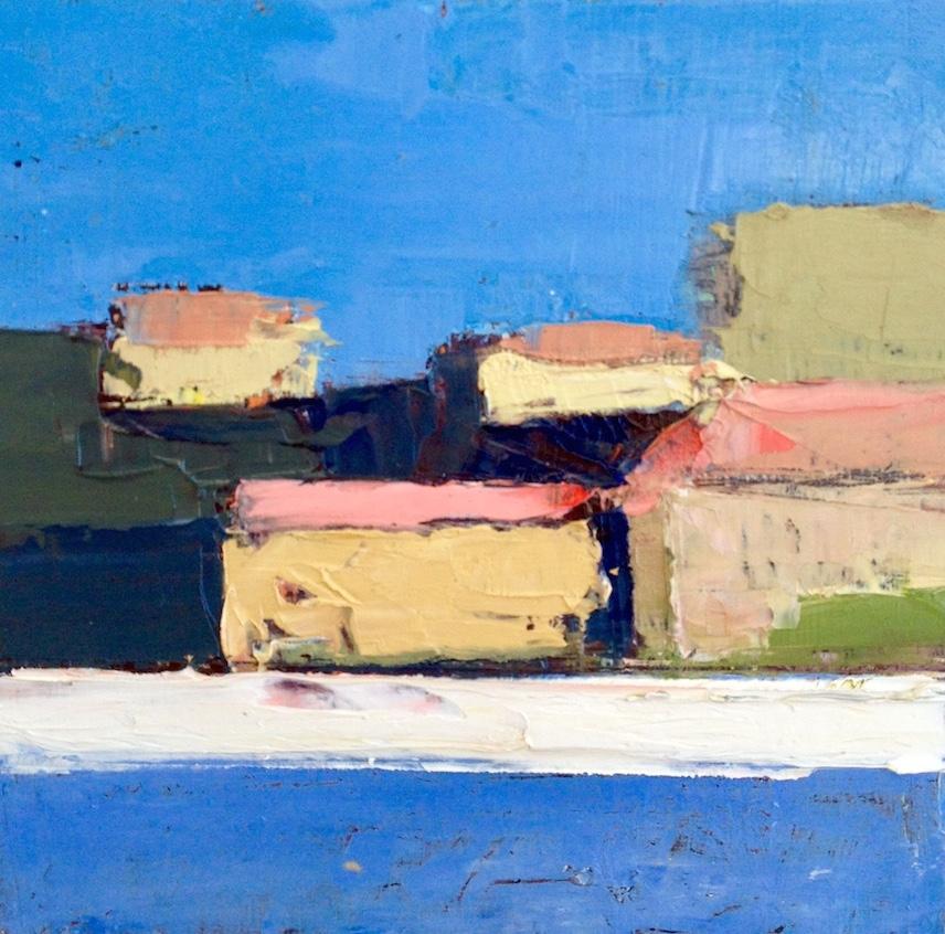 "Bellagio, 10""x10"", oil on canvas, 2014"