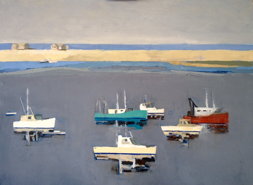 """Chatham, 36""""x48"""", oil on canvas"""