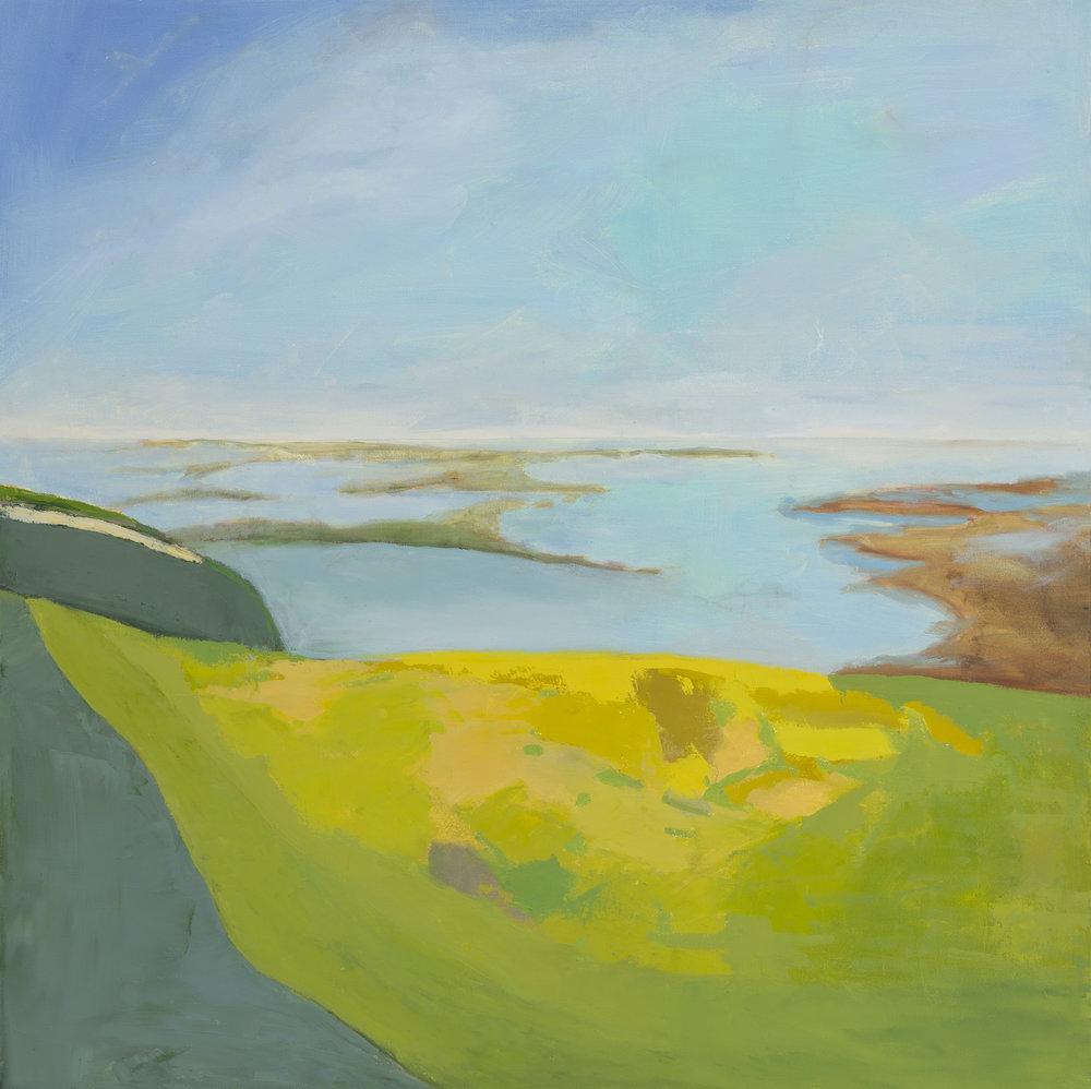 """Ireland,30""""x30"""", oil on canvas"""