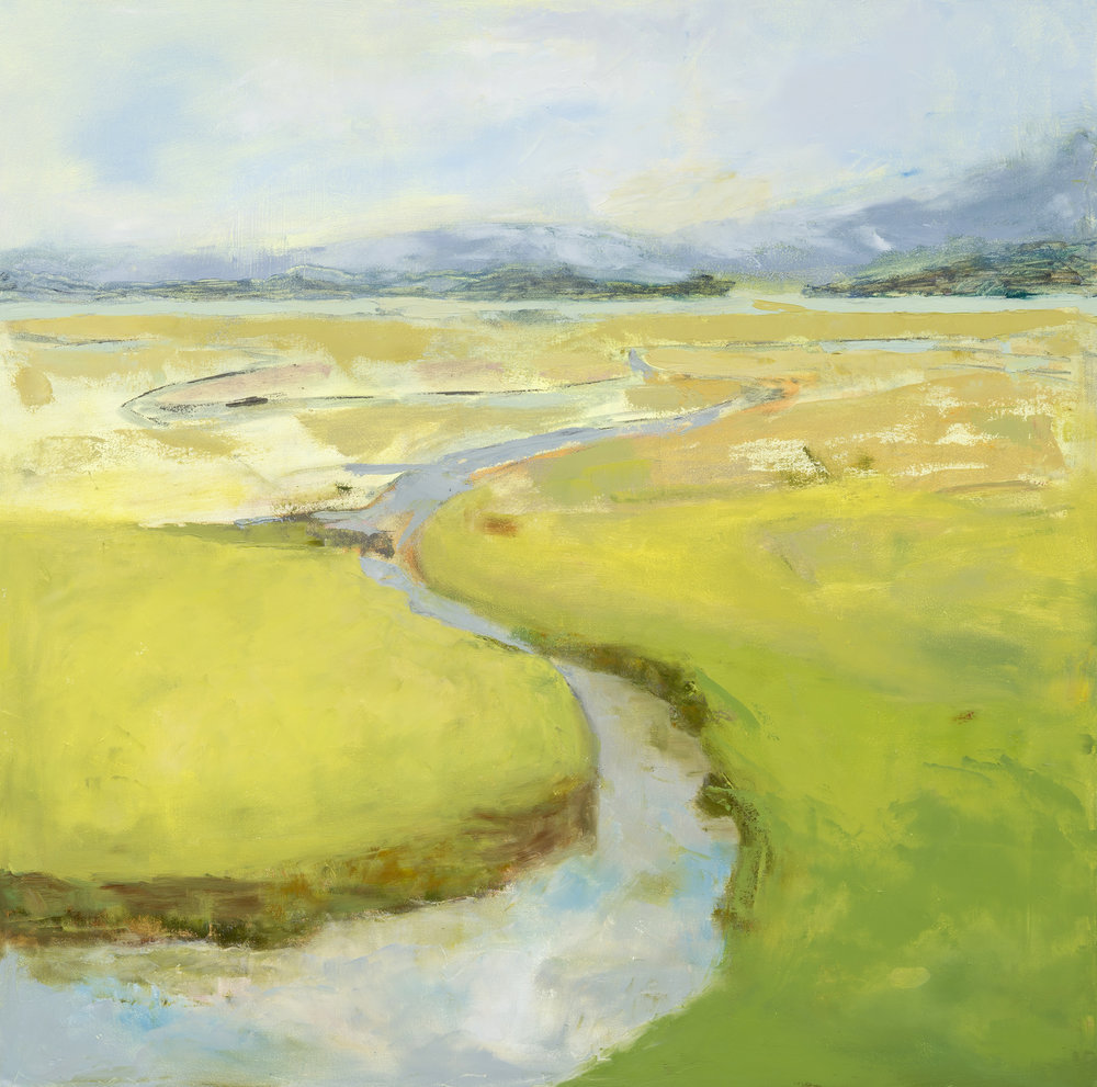 """Essex, 30""""x30"""", oil on canvas"""