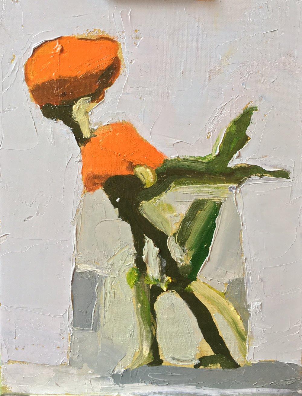 Orange Mums 2