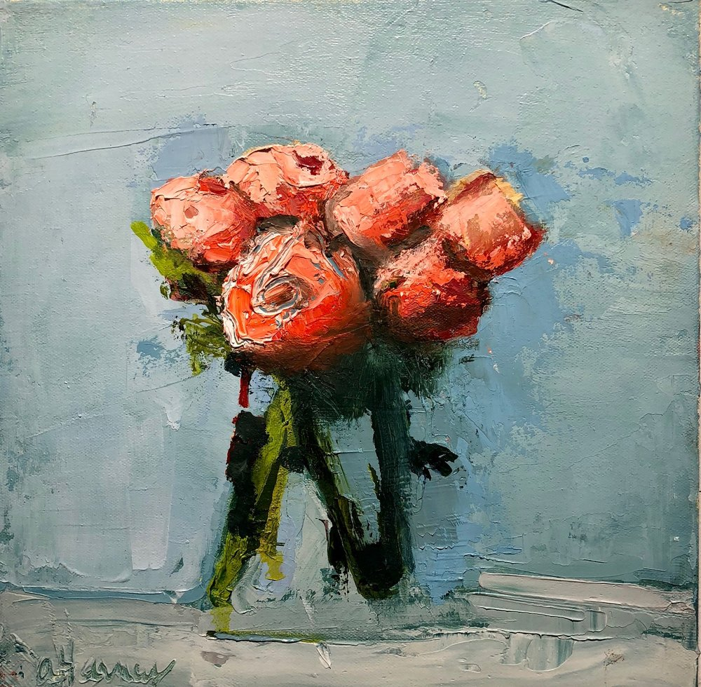 Red Ranunculus, 2018