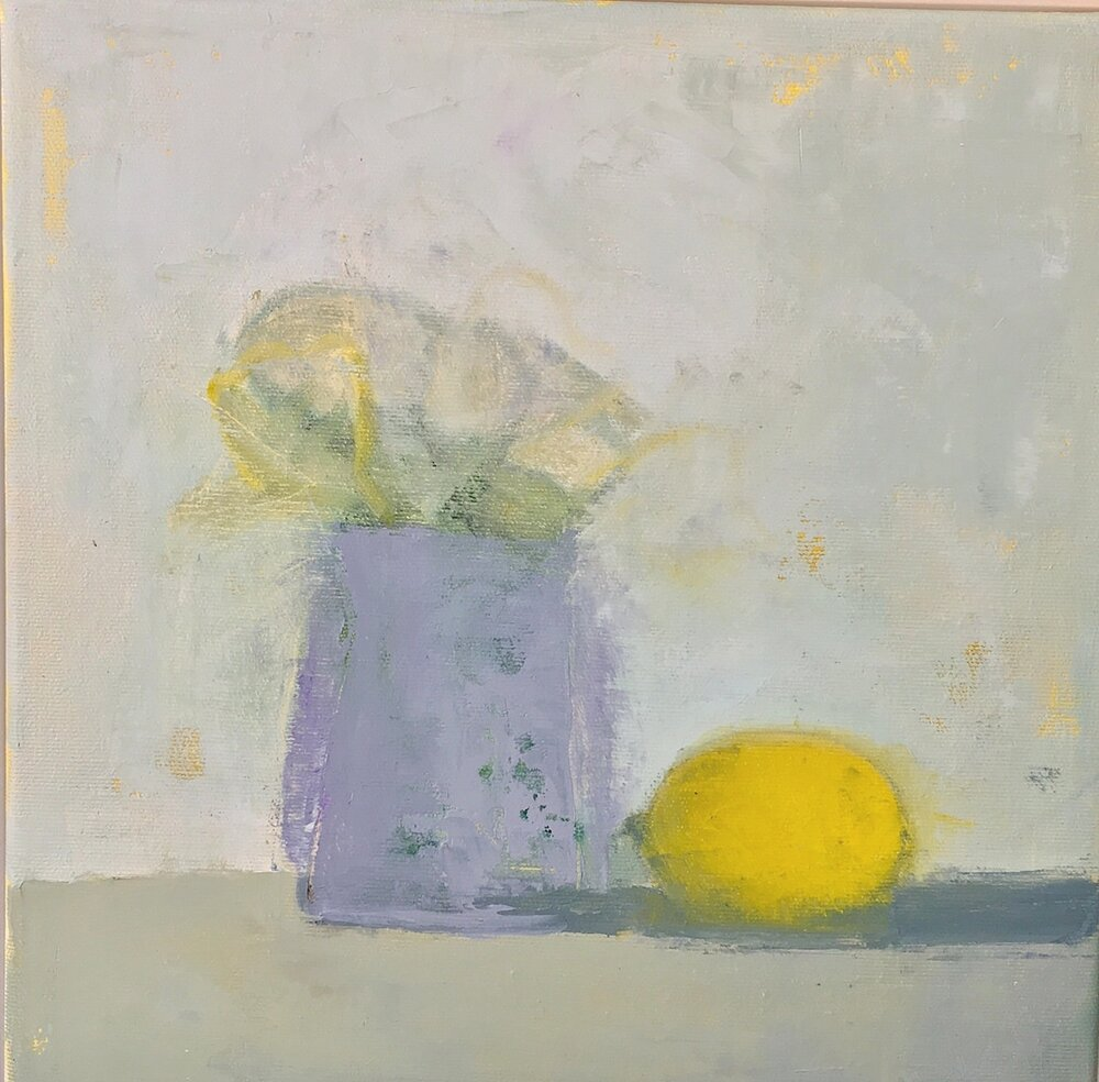 Lemon and Flowers