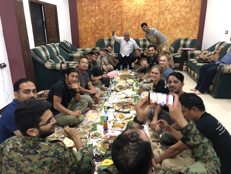 Dinner with YPG