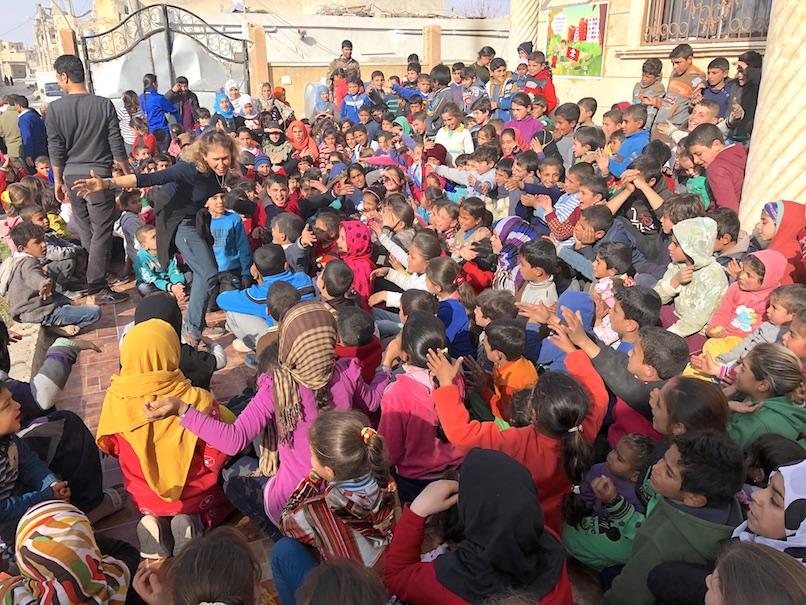 Raqqa kids program