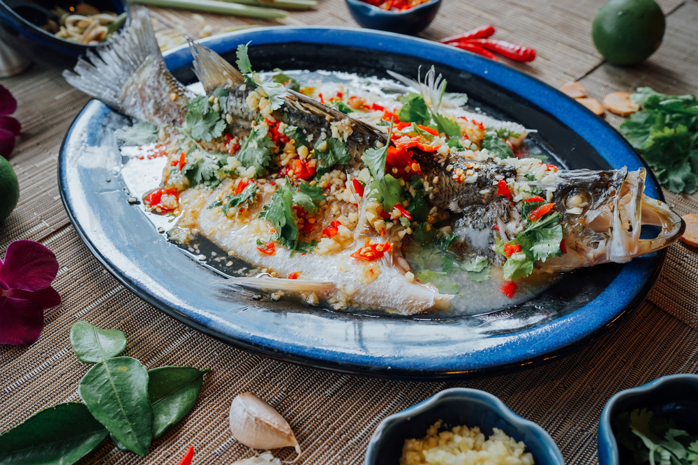 Sawadee Thai Cuisine spicy steamed fish.jpg