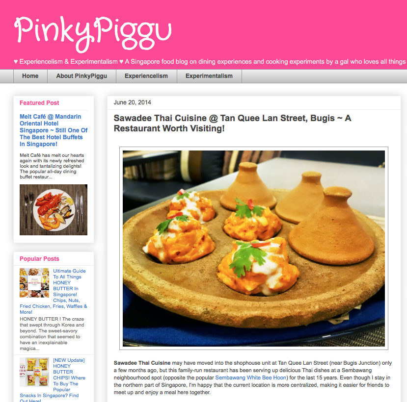 Pinky Piggu, A Restaurant Worth Visiting!, June 2014