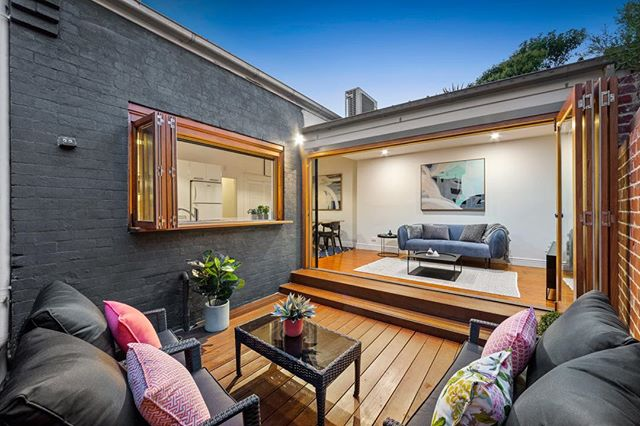 Loved styling this gorgeous property at 32 Longmore St. St Kilda West. Auction this Saturday with Marshall White. Call Oliver Bruce on 0409 856 599. Great location in the this great Port Phillip bubble by the sea and buzzing St Kilda.