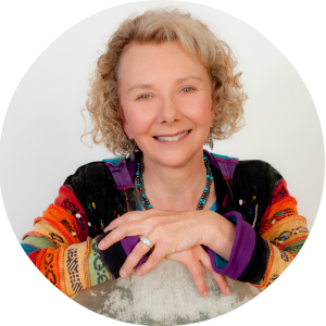 Alida Birch, visionary author of The Co-Creation Handbook, and respected shamanic healer.  In the past 20 years she has initiated over 500 people in her Call of the Shaman apprenticeship programs.