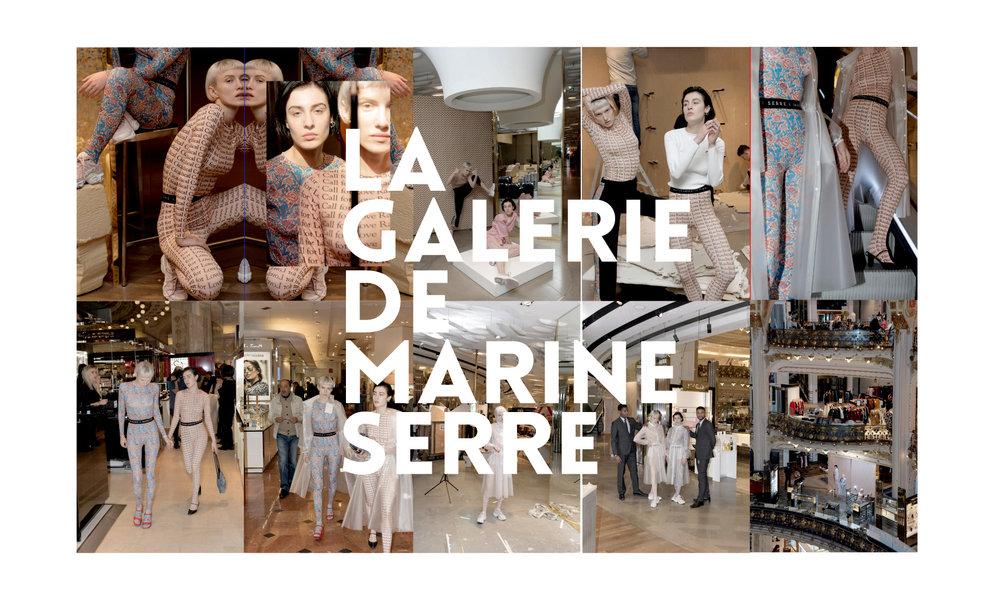 LES LUNES DE MARINE SERRE S'INSTALLENT AUX PLUS PARISIENNES DES GALERIES
