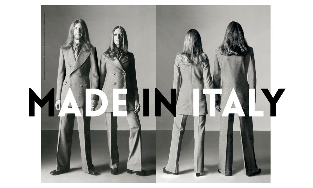 ITALY THROUGHT THE LENS OF FASHION 1971-2001
