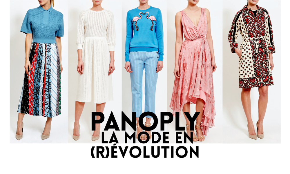 ALERIES LAFAYETTE / PANOPLY / DRESSING /SHOPPING /  VESTIAIRE / ROBE / VESTE  / ÉTÉ