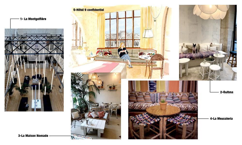 Paris la Montgolfière 9 Confidentiel la maison Nomade