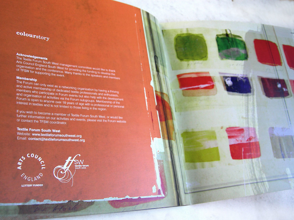 'ColourStory' Acknowledgements
