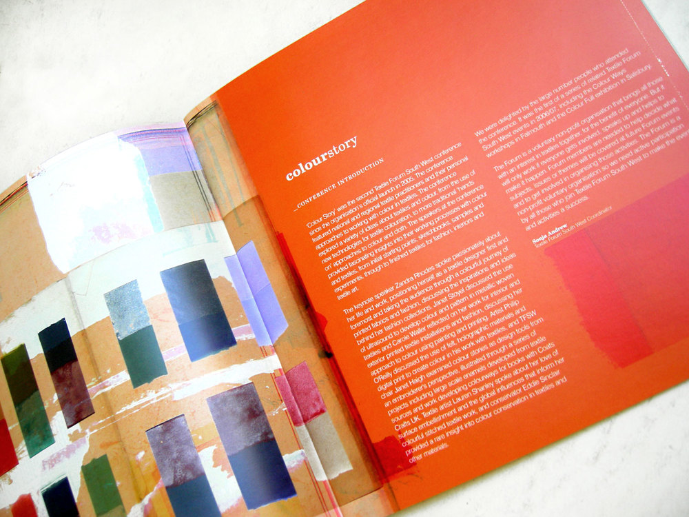 'ColourStory' Introduction Spread