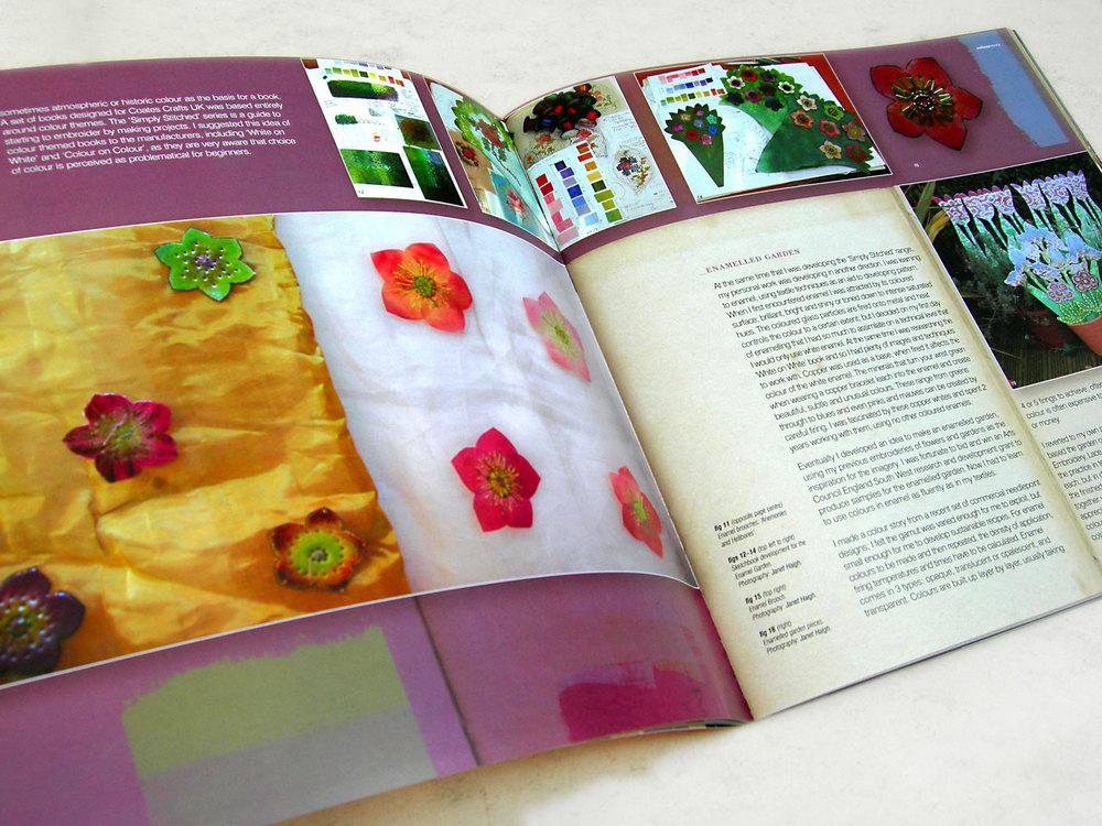 'ColourStory' Janet Haigh Presentation Spread