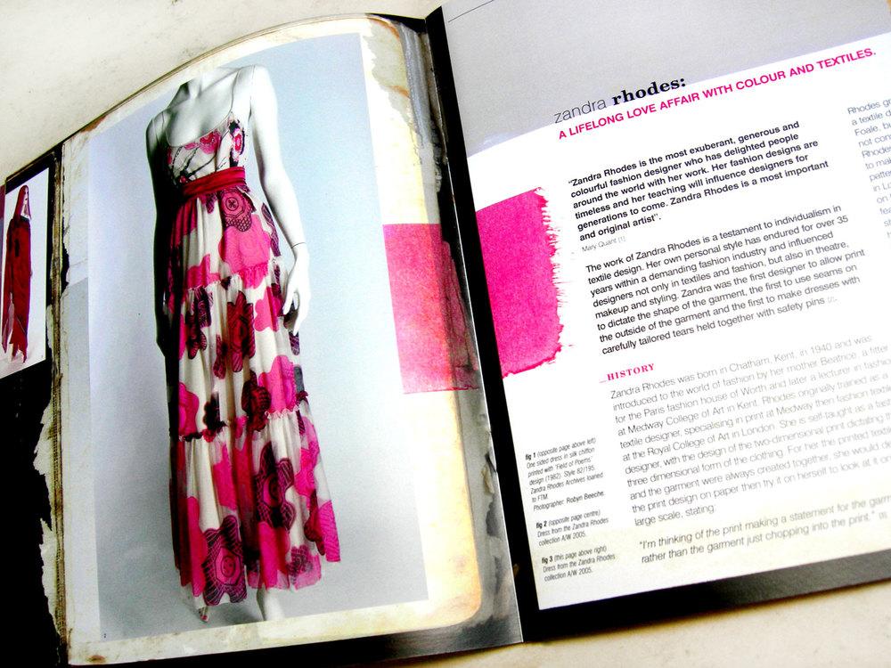 'ColourStory' Zandra Rhodes Presentation