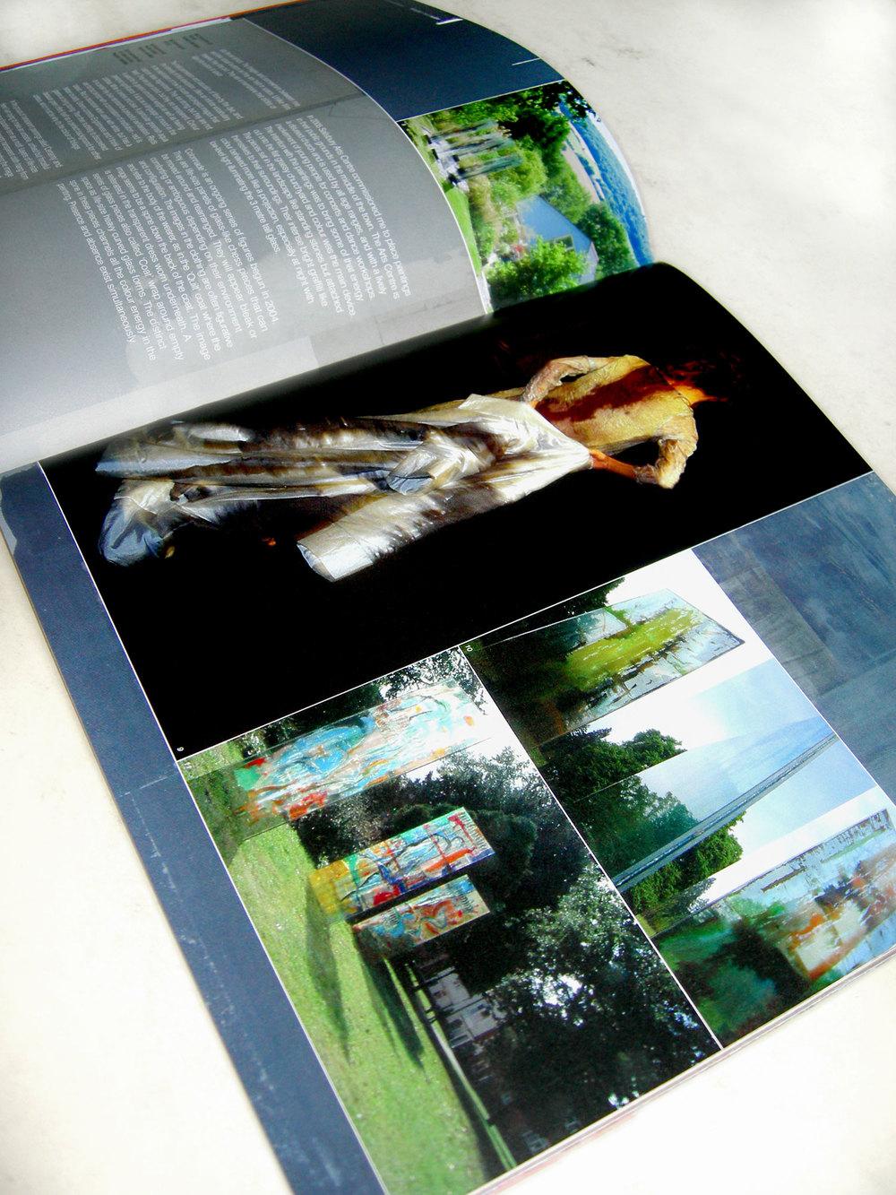 'ColourStory' Carole Waller Presentation Spread