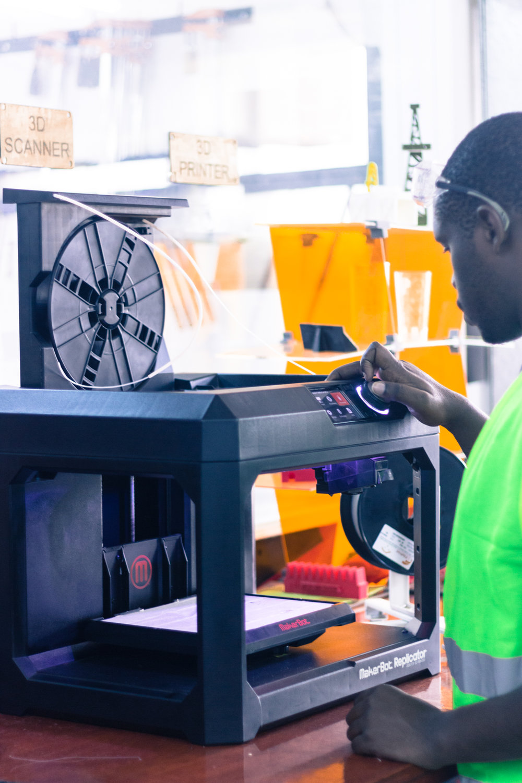 Gearbox 3D printer