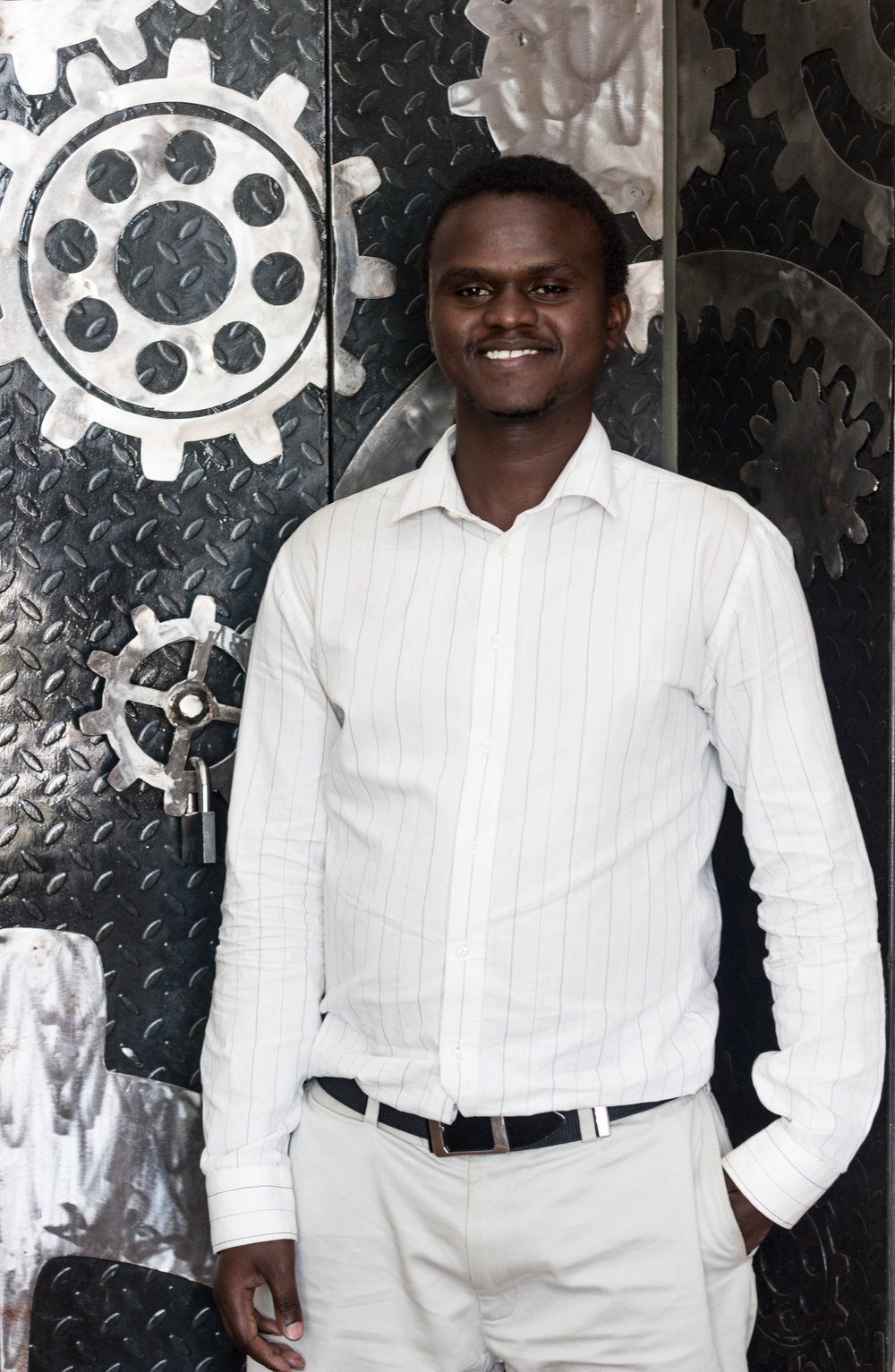 Mechanical engineer, Sato Bonface Kariuki