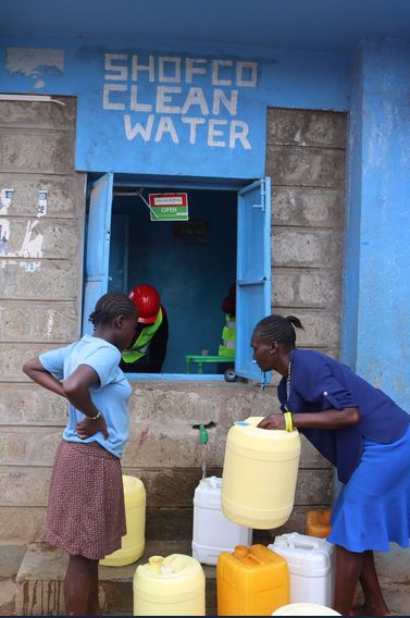 Shofco, in partnership with Safaricom contracted Gearbox to facilitate the Shofco water project in Kibera. The project was an incorporation of a solar powered integrated service management system device that offers automatic water dispenser by use of bar-codes IDs.