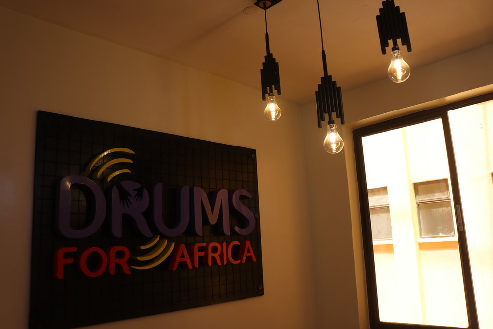Making of the Drums For Africa Logo. Cutting,welding and design and making all done at our space.