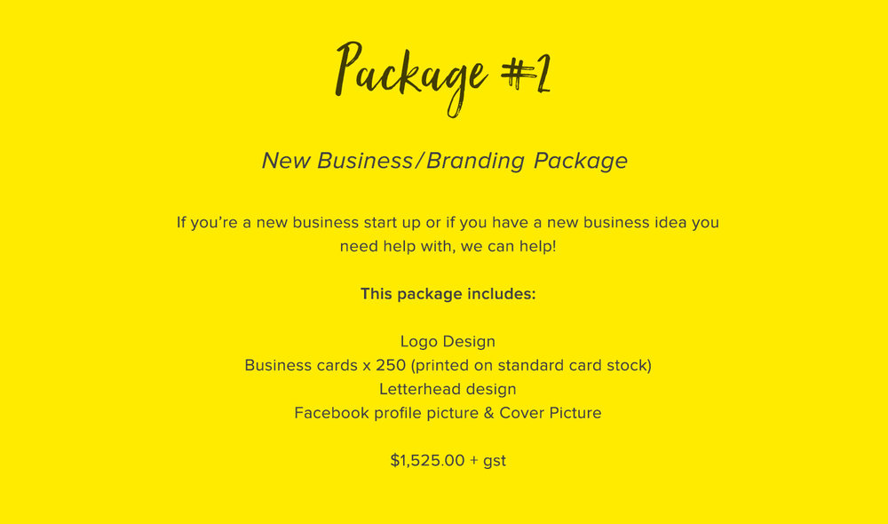 Package Logo Business facebook letterhead