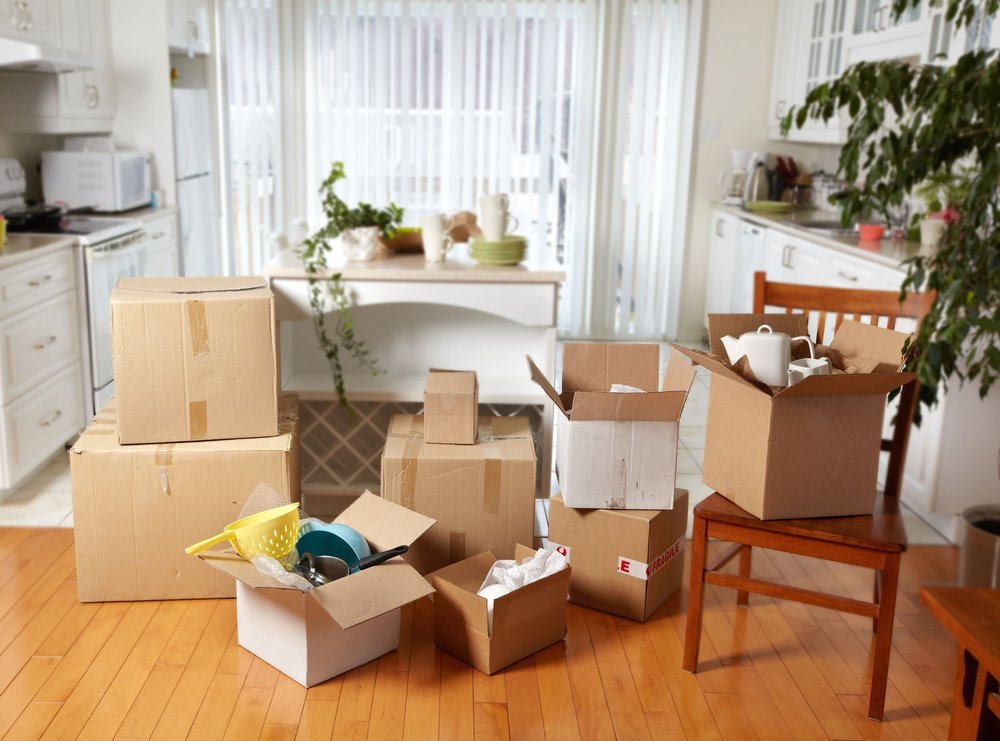 Home Organizing Moving
