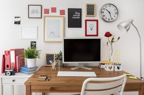 Creating an Easy to Manage Home Office JM Home Organizing