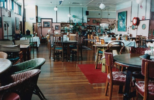 The original Avalon restaurant