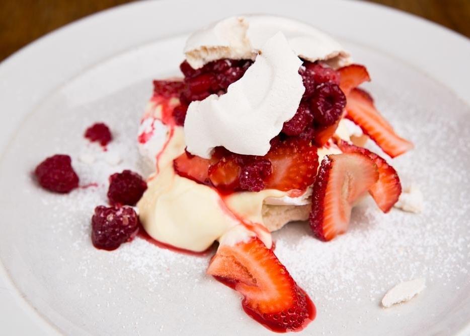 Avalon Dessert Menu