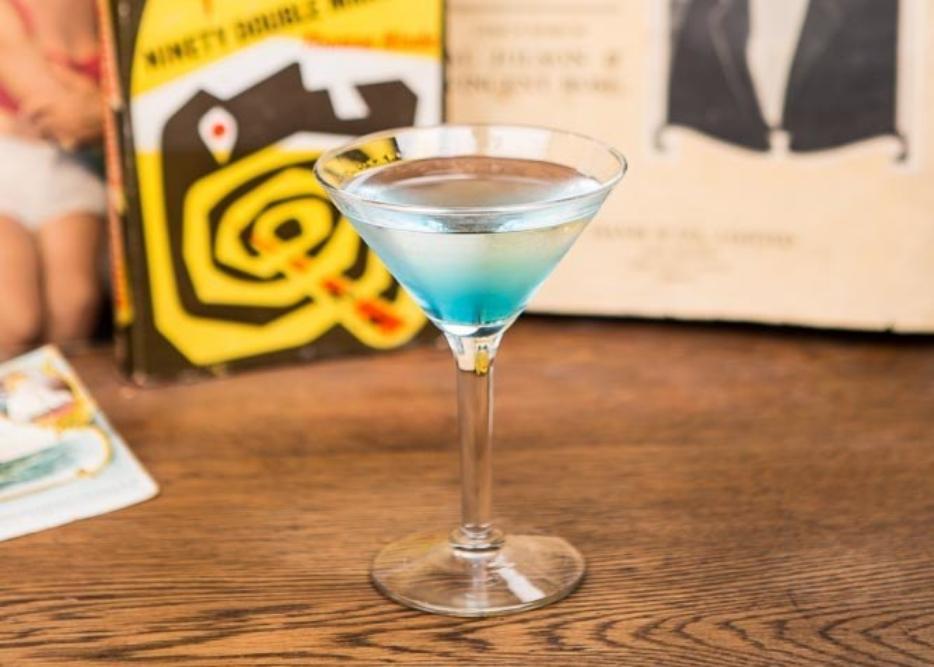 Avalon Bar Menu