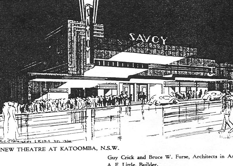 Architect impression of The Savoy Theatre building