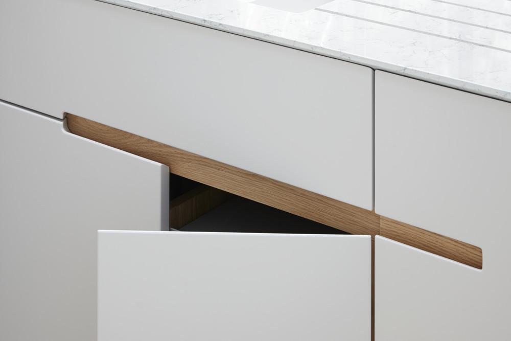 Kitchen Drawer Detailing